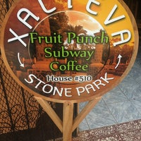 Photo taken at Xalteva Stone Park - Fruit Punch, Subway & Coffee by Diego N. on 7/19/2013