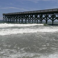 Photo taken at Wrightsville Beach by alberto g. on 8/10/2013