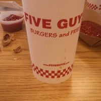 Photo taken at Five Guys by Charles w. on 4/14/2013