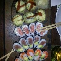 Photo taken at Osaki by Linda E. on 2/21/2013