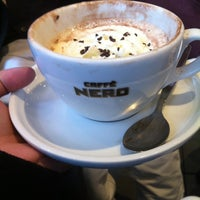 Photo taken at Caffè Nero by Mari C. on 4/3/2013