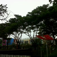Photo taken at Citra Garden Water Park by Hinfa M. on 4/9/2013