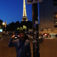 Photo taken at Hôtel Eiffel Capitol by Marcelo C. on 5/18/2014