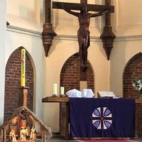 Foto tomada en Iglesia Luterana de La Santa Cruz en Valparaíso por Marcelo C. el 12/10/2017