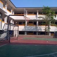 Photo taken at SD Bakti Mulya 400 by Rie R. on 9/17/2014
