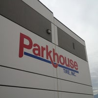 Photo taken at Parkhouse Tires by Beth R. on 11/15/2012