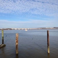 Photo taken at Belle Haven Marina by Chris K. on 1/1/2014