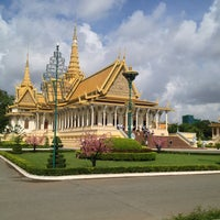Photo taken at Royal Palace, Phnom Penh by Desmond K. on 5/11/2013