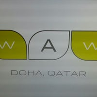 Photo taken at WAW Showroom, The Pearl Qatar by Lynda C. on 7/17/2013