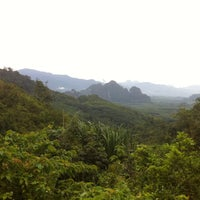 Photo taken at จุดชมวิวเขาสก ทล.401 กม.112 by Artyt L. on 5/11/2013