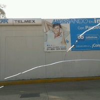 Photo taken at Telmex Zaragoza by Chica P. on 2/18/2014