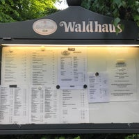 Photo taken at Restaurant Waldhaus Zehlendorf by Michael S. on 5/9/2018