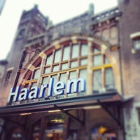 Photo taken at Station Haarlem by Anand on 10/20/2012