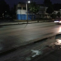 Photo taken at Metrobus Estacion Heroe de Nacozari by ari c. on 6/23/2013