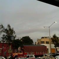 Photo taken at Metrobus Estacion Heroe de Nacozari by ari c. on 10/1/2012