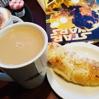 Photo taken at Caffè Nero by emma t. on 1/14/2017