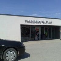 Photo taken at Saadjärve kauplus by Karmela S. on 5/9/2013