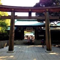 Foto tirada no(a) Honden (Main Shrine) por Daishi N. em 1/25/2013