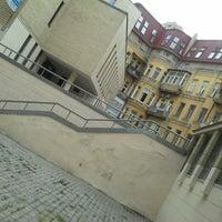 Photo taken at Єврейський дворик by Boruh F. on 8/24/2013