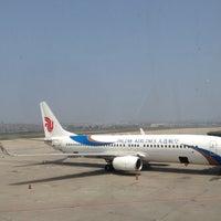 Photo taken at Dalian Zhoushuizi International Airport (DLC) by Dylan C. on 6/28/2013