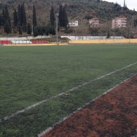 Photo taken at Karamursel Sehir Stadı by Mustafa K. on 2/26/2017