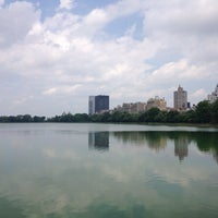 Photo taken at Central Park - 86th St Transverse by Oguzhan A. on 7/27/2014