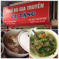 Photo taken at Phở Bò Cụ Tặng by M. on 7/15/2013