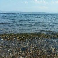 Photo taken at Kapaklı Plajı by Çiçek. on 8/30/2014