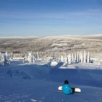 Photo taken at Pikku-Syöte by Tomi R. on 2/20/2013
