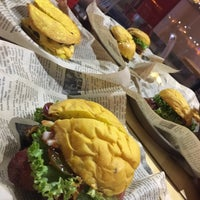 Photo taken at way back burgers by Ahmed A. on 3/13/2018
