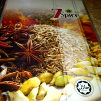 Photo taken at 7 Spice Indian Cuisine by Ary B. on 12/5/2012