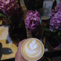 Photo taken at Espresso Holic in 29 Flowers by Any D. on 4/12/2017