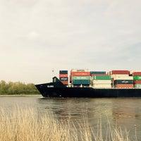 Photo taken at Kiel Canal by Anke N. on 5/1/2017