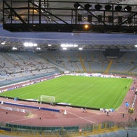 Photo taken at Stadio Olimpico by GowithOh on 5/24/2013