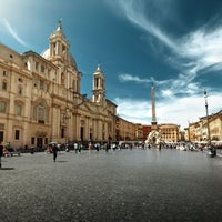 Photo taken at Piazza Navona by GowithOh on 4/30/2013