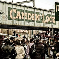Photo taken at Camden Stables Market by GowithOh on 5/27/2013