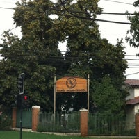 Photo taken at Andrée English School by Esteban G. on 4/1/2013
