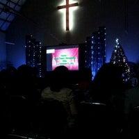 Photo taken at Gereja Toraja Bintaro by Khisna A. on 12/8/2012