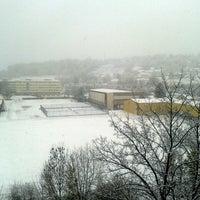 Photo taken at Campus de La Bouloie by Eylem on 11/27/2013