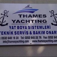 Photo taken at Thames Yatching by 🔱Yavuz ⚓️ D. on 4/2/2013