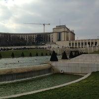 Photo prise au Jardins du Trocadéro par Lucas P. le3/31/2013