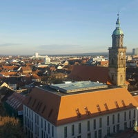 Photo taken at Hugenottenkirche by Natalia A. on 12/10/2016