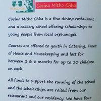 Photo taken at Cocina Mitho Chha by Ksénia F. on 6/5/2014