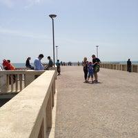 Photo taken at Pontile di Ostia by Maria Erlange Sposata H. on 5/4/2013