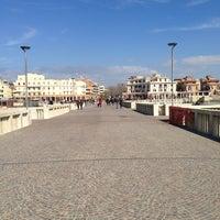 Photo taken at Pontile di Ostia by Maria Erlange Sposata H. on 3/4/2013