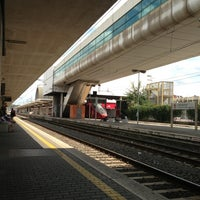 Photo taken at Roma Ostiense Railway Station (IRR) by Maria Erlange Sposata H. on 6/28/2013