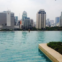 Photo taken at Swimming Pool@Sivatel Hotel by Elina S. on 3/23/2014