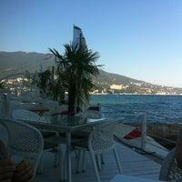 "Photo taken at Пляж Ресторан Клуб ""Вилла Елена"" by Mariia on 8/22/2013"