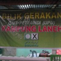 Photo taken at bilik gerakan kampung laneh by Muhammad Z. on 5/8/2013