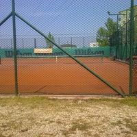 Photo taken at Havuzlu Konak Tenis Kortları by Ipek G. on 4/23/2013
